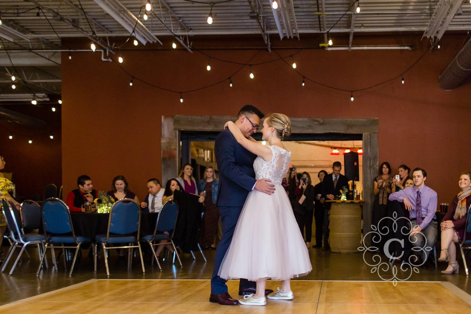 Urban Growler Brewing Company Wedding Reception Photo