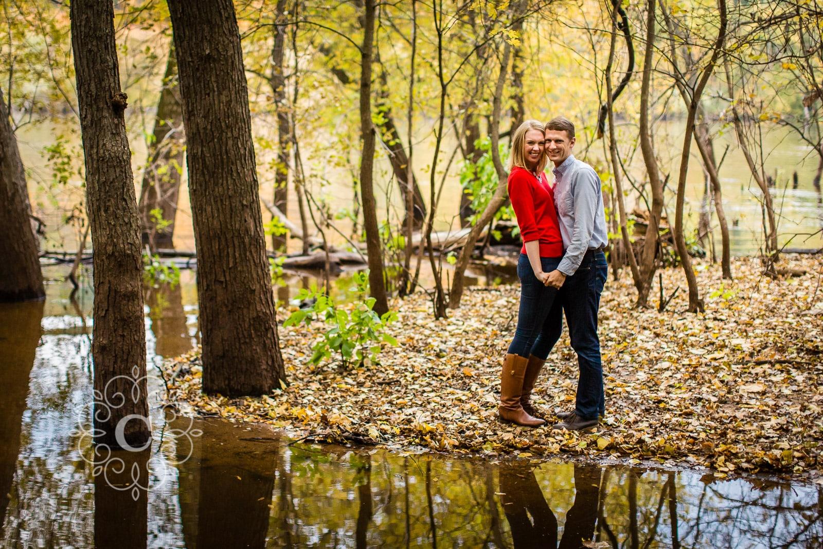 St Croix Stillwater MN Engagement Photo