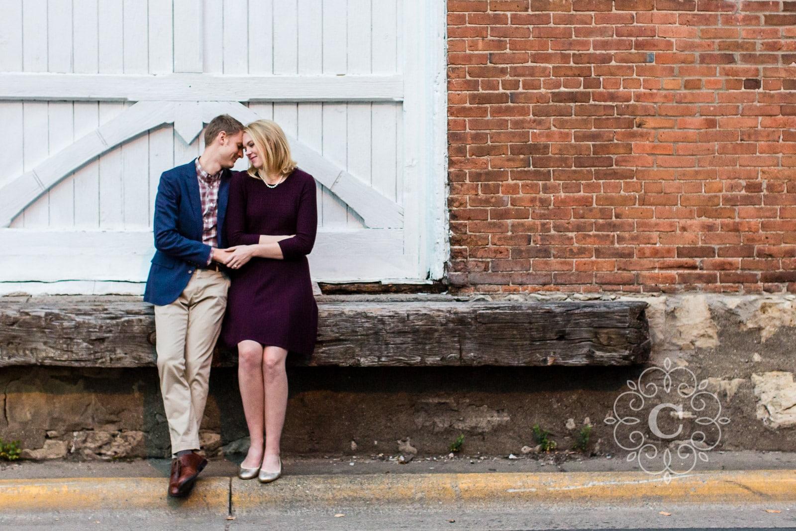 Stillwater MN Engagement Photo