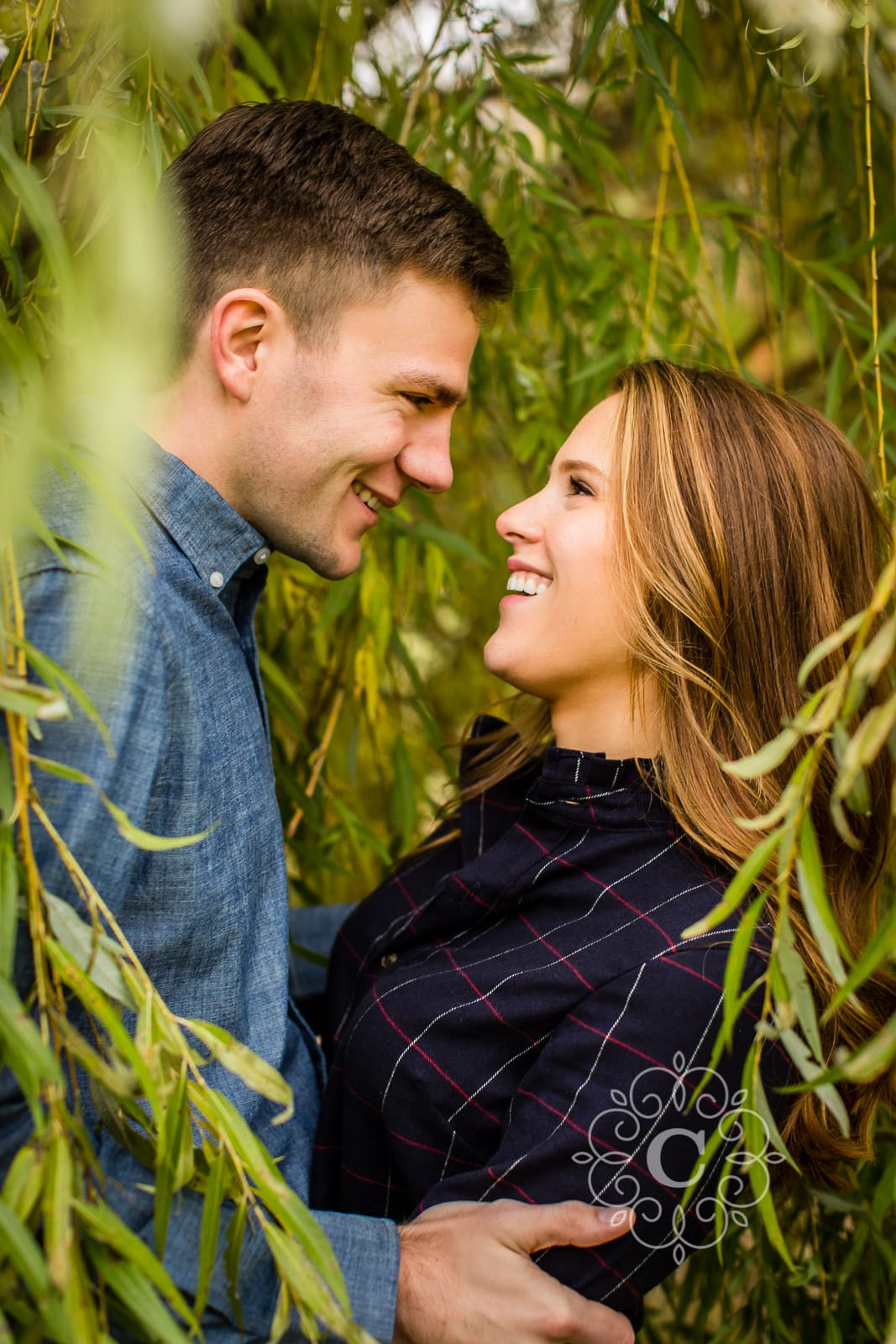 St Olaf Northfield MN engagement photography