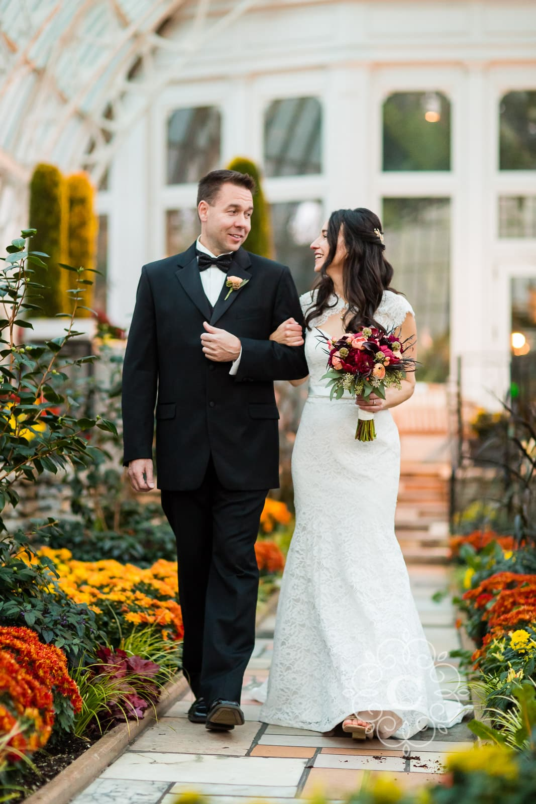 Como Park Marjorie McNeeley Conservatory Wedding