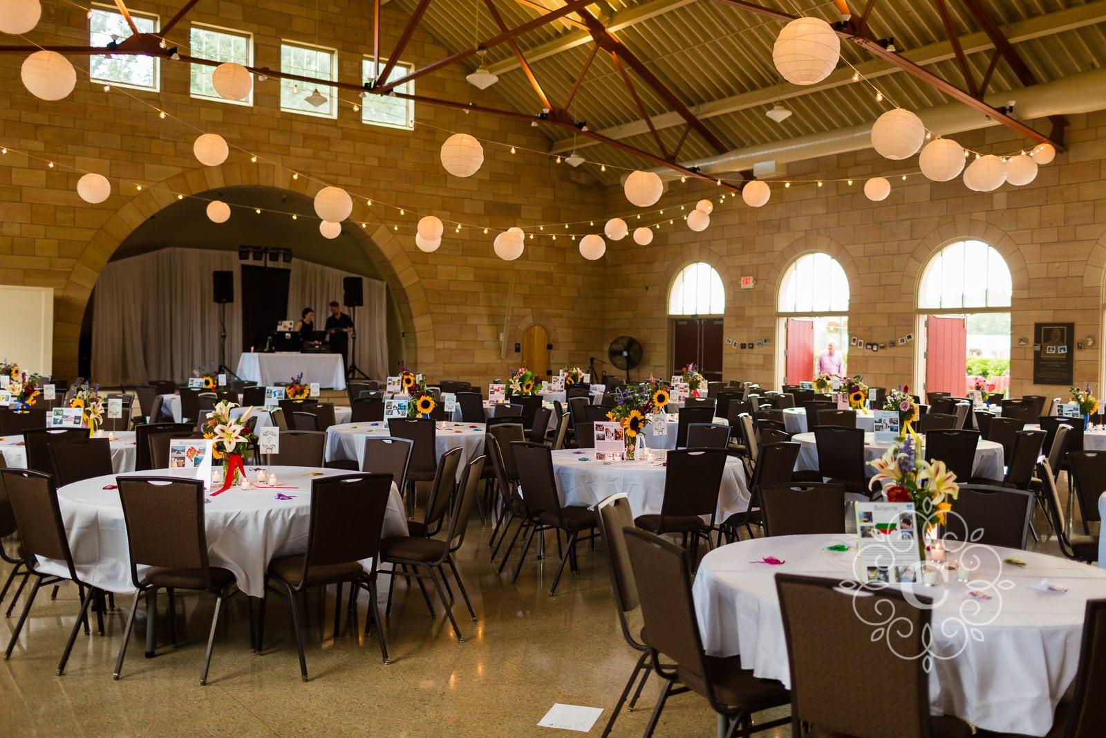 Harriet Island Pavilion St Paul MN Wedding