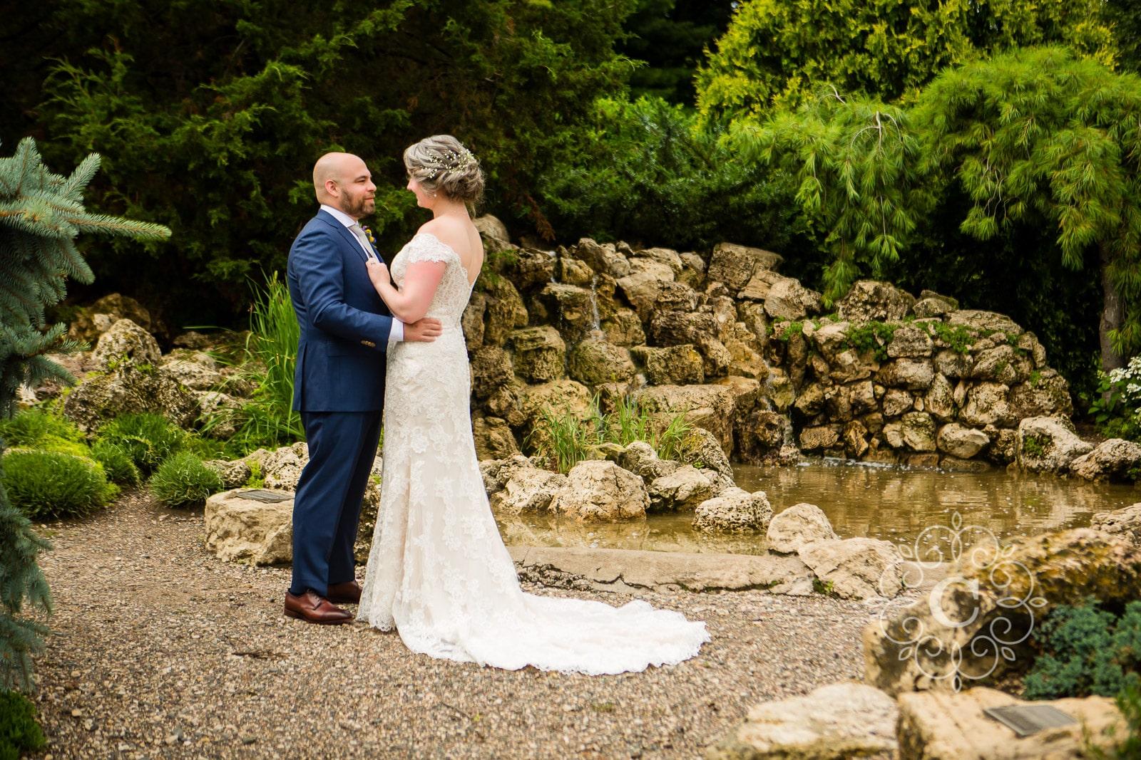 Lyndale Peace Park Garden Wedding Photo
