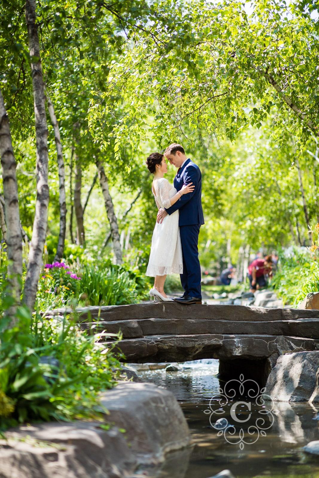 Mears Park MN Wedding Photo