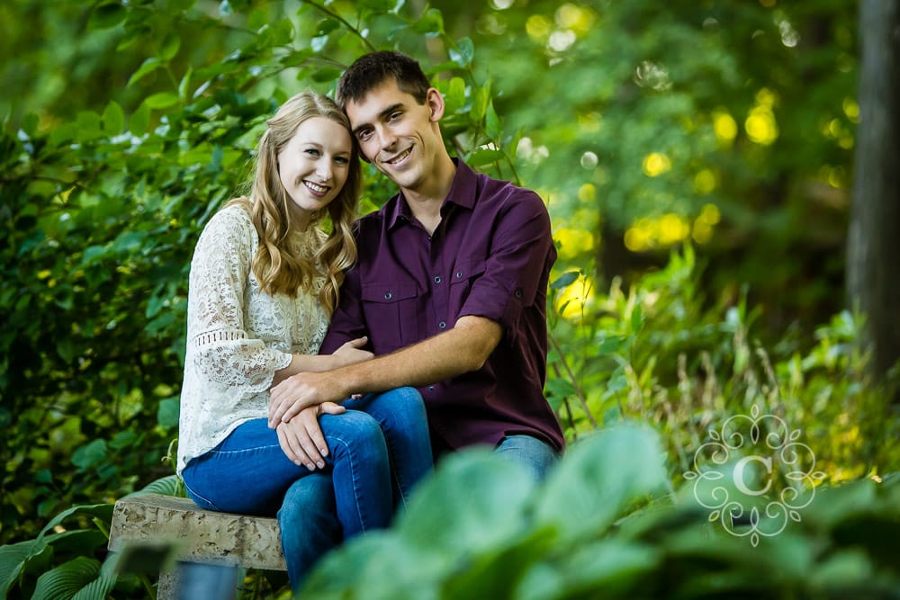 U of MN Landscape Arboretum Engagement Photography