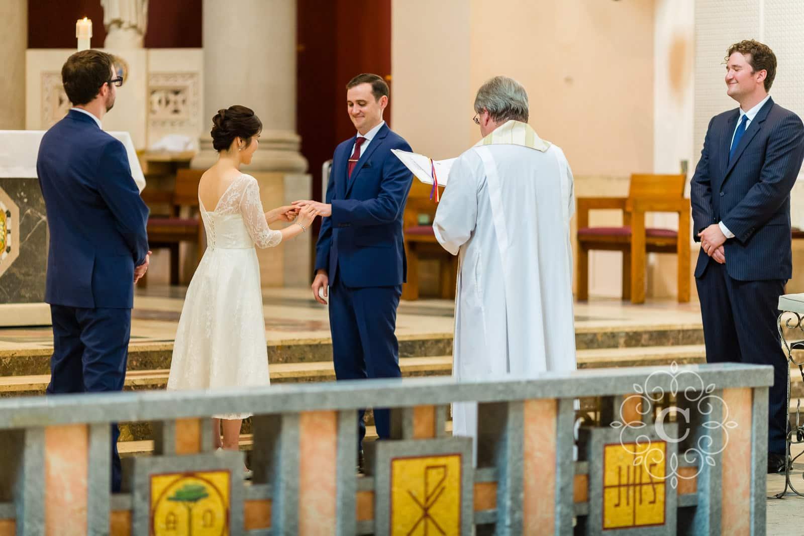 Saint Thomas More Church Wedding Photo