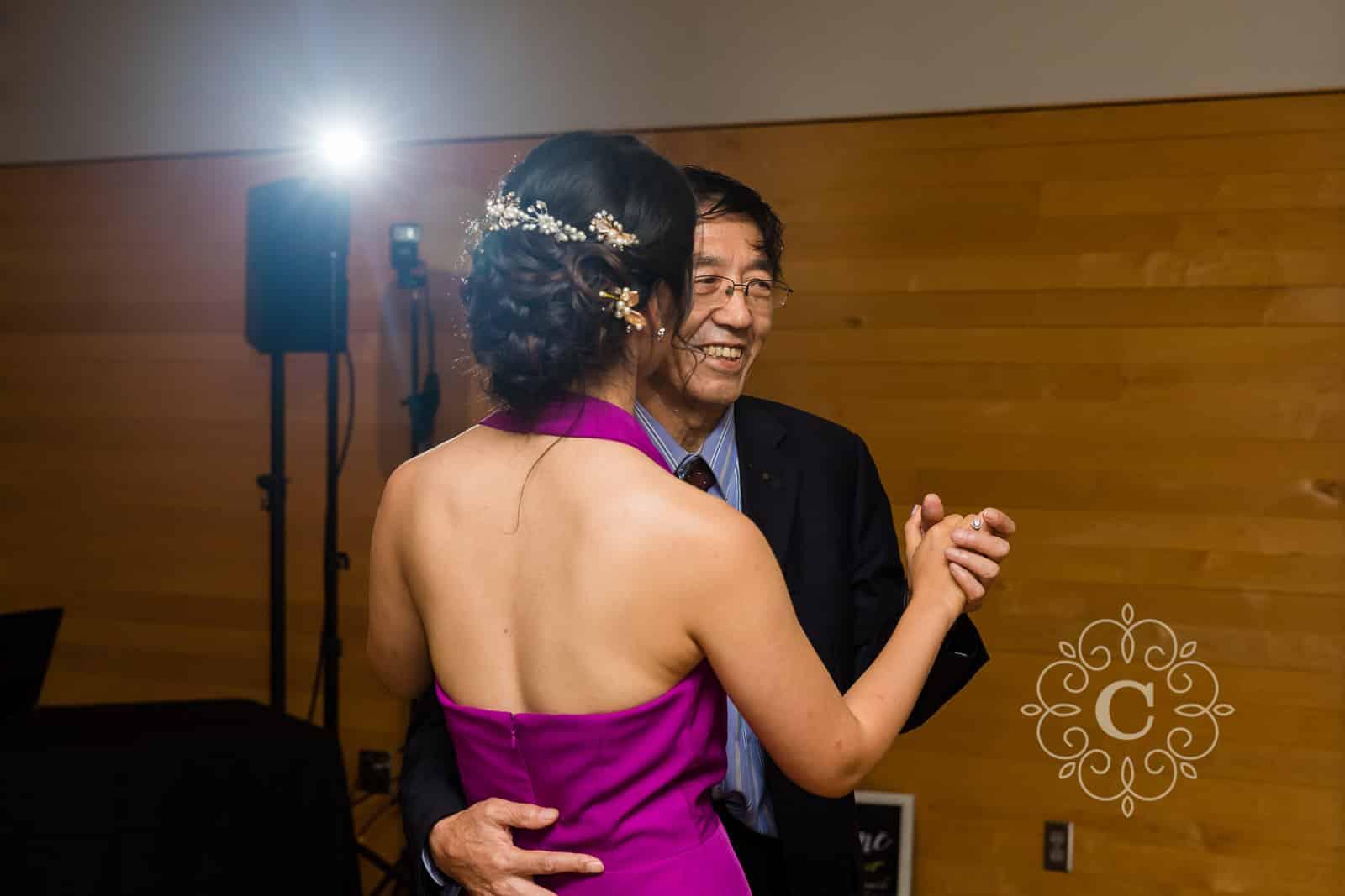 Como Park Conservatory Wedding Photo