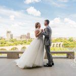 Guthrie Theater Endless Bridge Wedding Photo