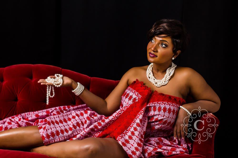 Fine Art Studio Portrait Photo