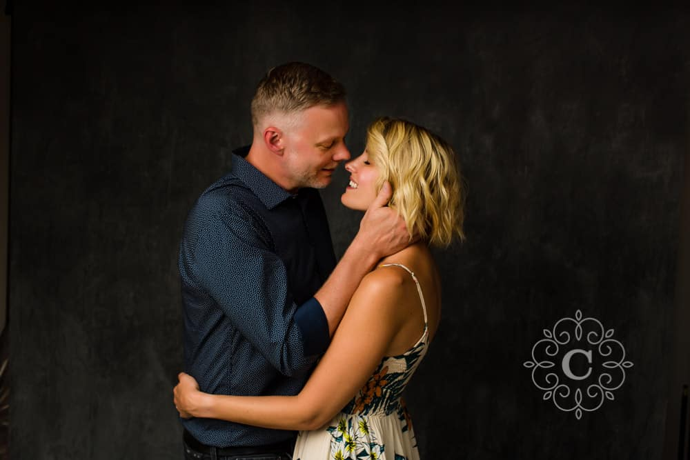 Fine Art Studio Engagement Photography