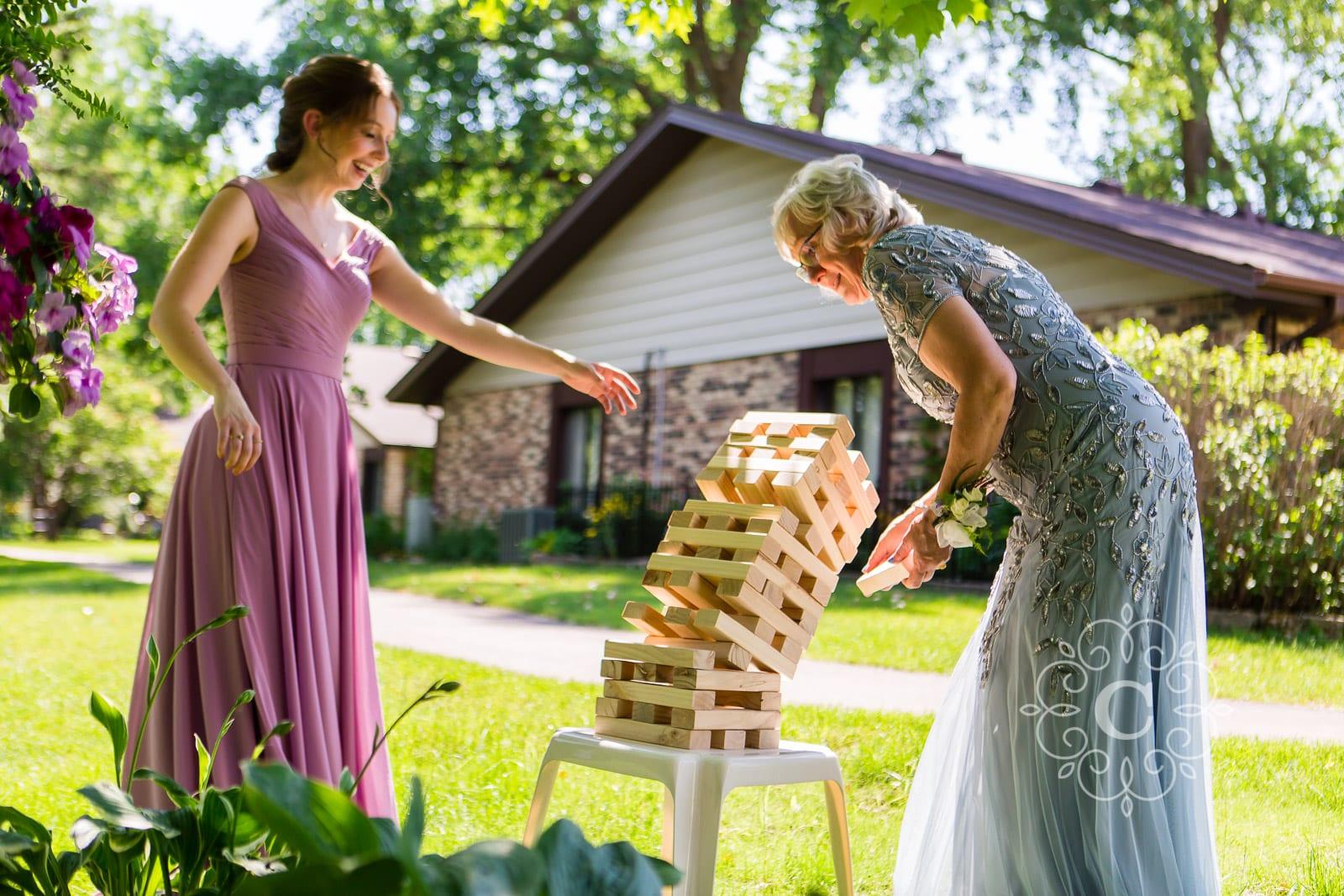 Home Backyard MN Wedding Photos