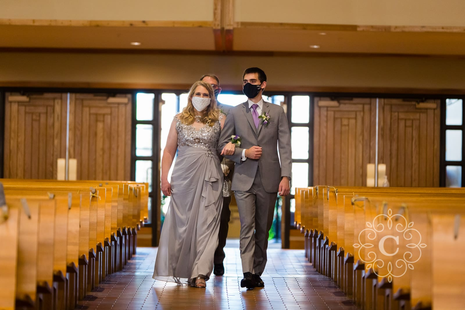 Catholic Church Wayzata MN Wedding Photos