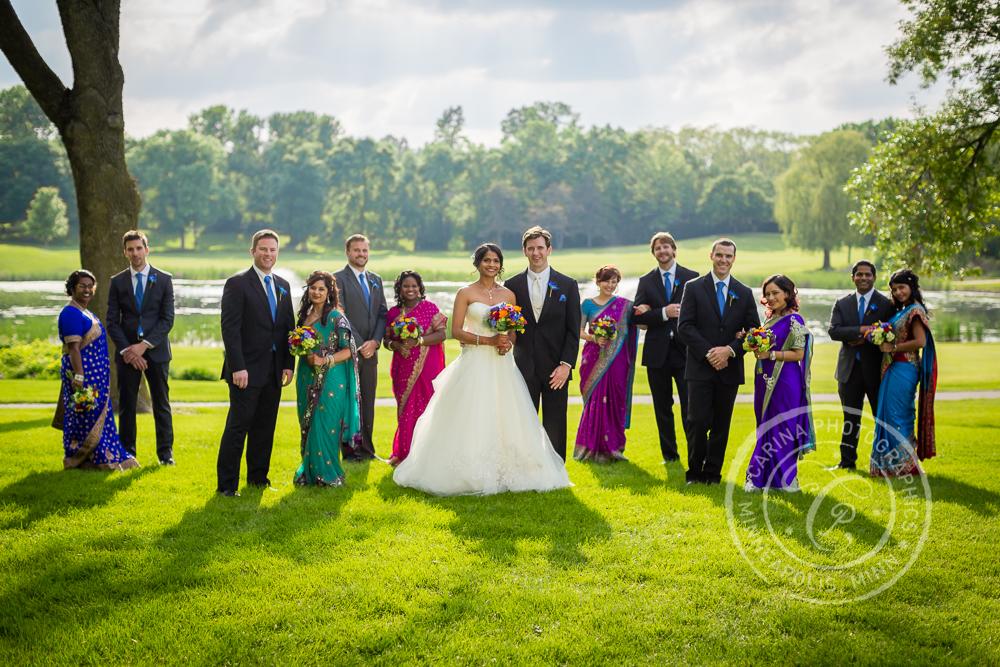 Indian wedding Mendakota Country Club St Paul MN photo