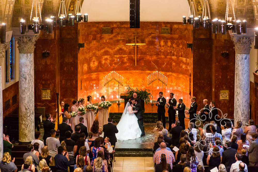 Nazareth Chapel Wedding Photo
