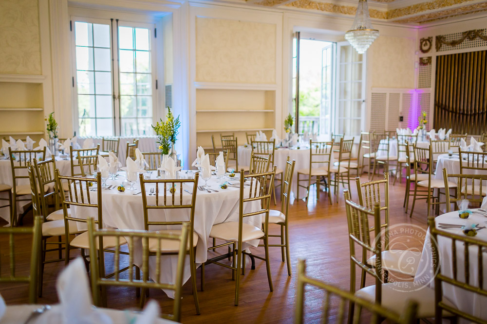 Cedarhurst Mansion St Paul Wedding Photo
