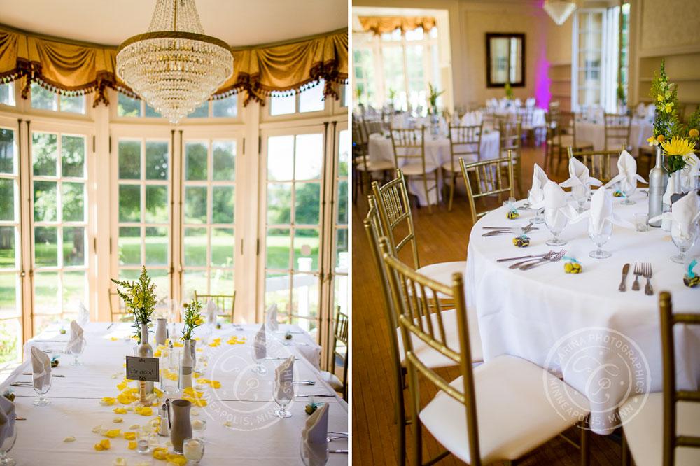 Cedarhurst Mansion St Paul Wedding Photo