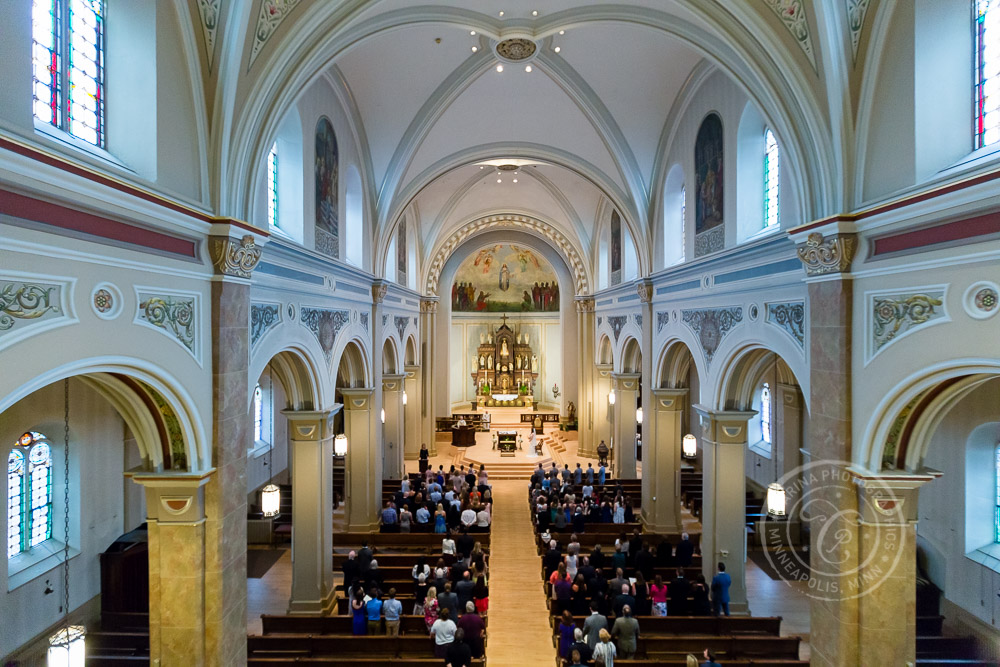 Assumption Church MN Wedding Photography