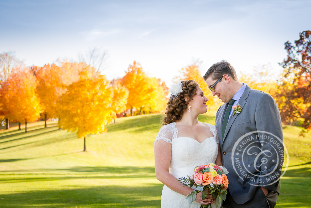 Columbia Golf Course Minneapolis MN Wedding Photo