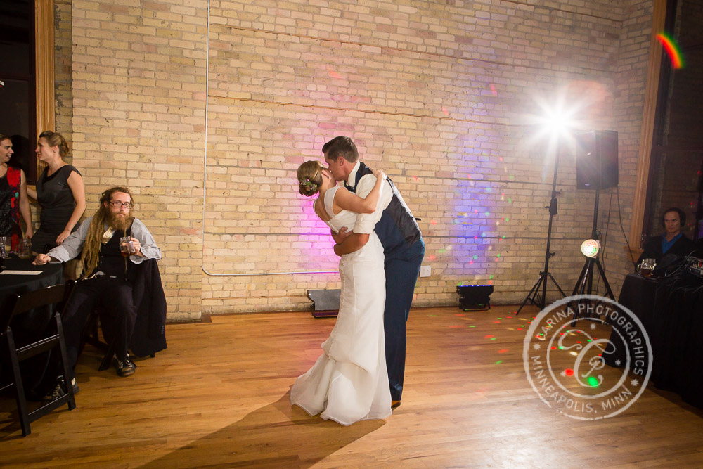 Day Block Event Center Minneapolis MN Wedding Photo