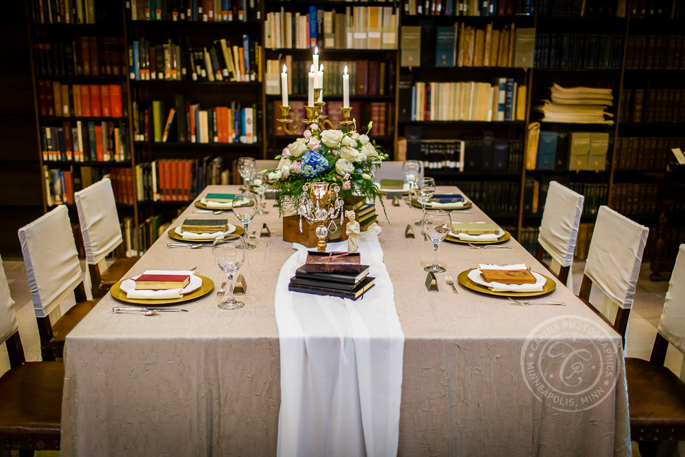 James J Hill Reference Library St Paul MN Wedding Inspiration Photo