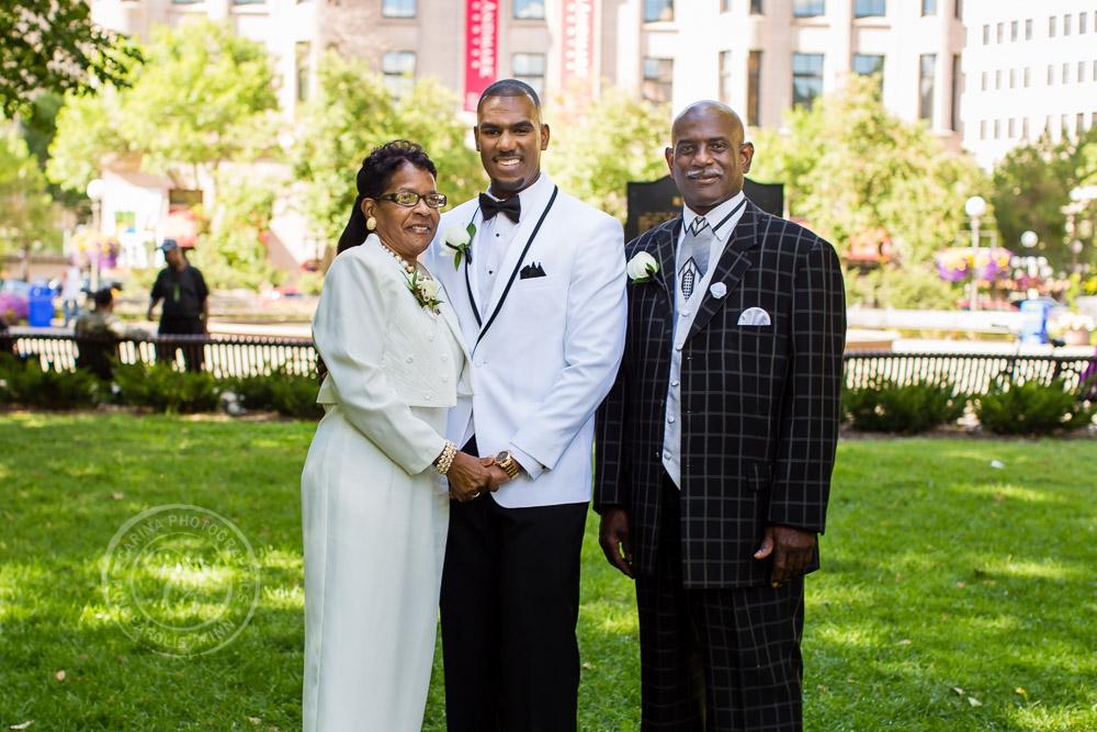 Landmark Center St Paul MN Wedding Photography