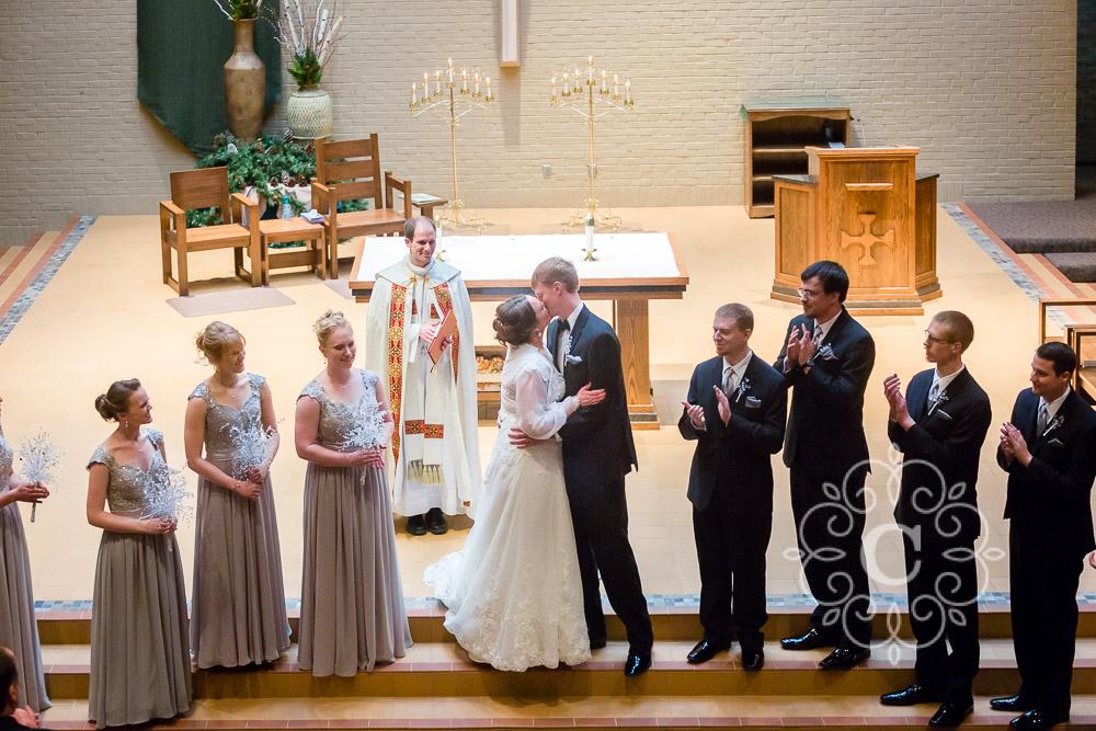 Landmark Center St Paul Wedding Photo
