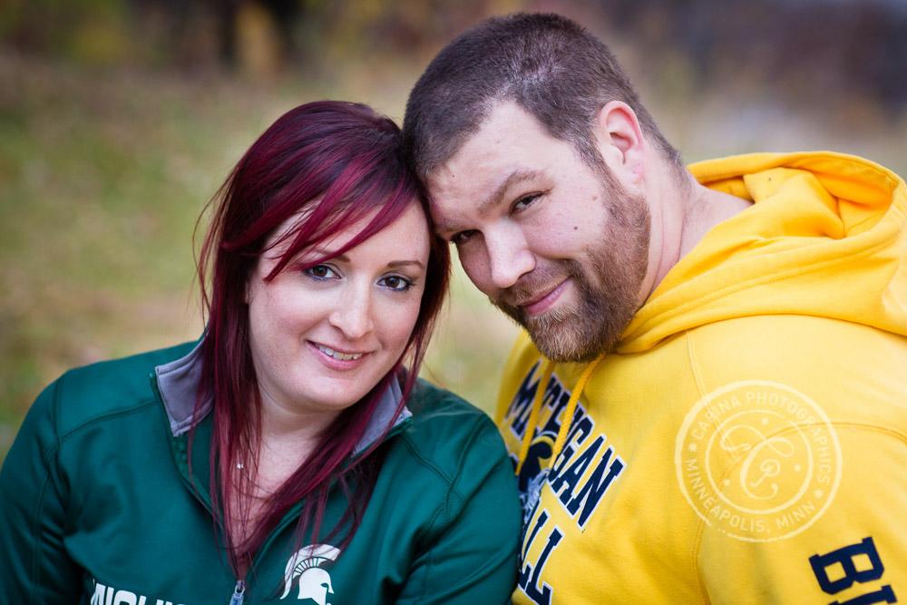 Lebanon Hills Eagan Minneapolis MN Engagement Photo