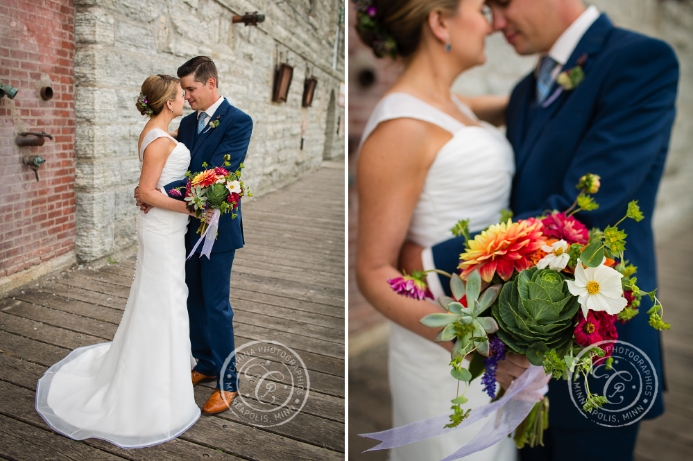 Mill City Museum Minneapolis MN Wedding