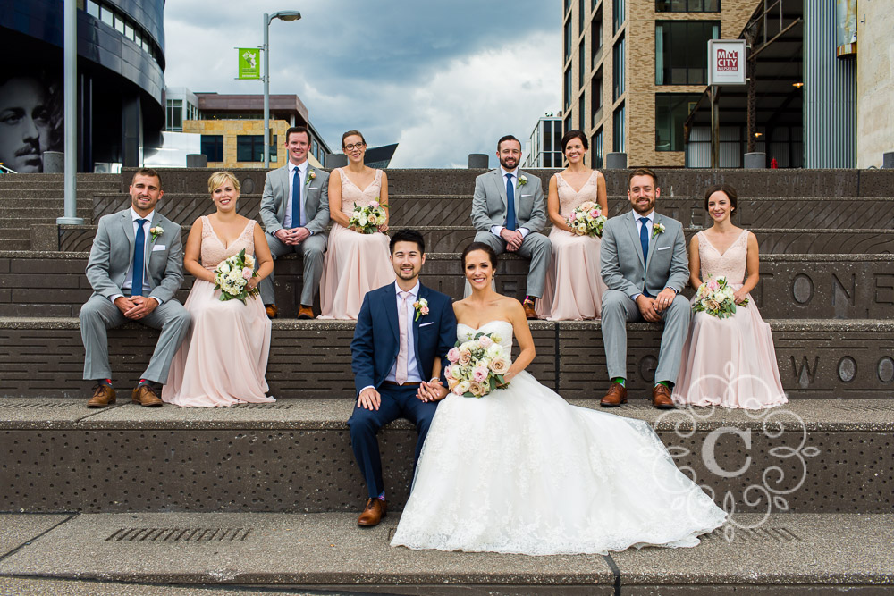 Guthrie Museum Wedding Photo