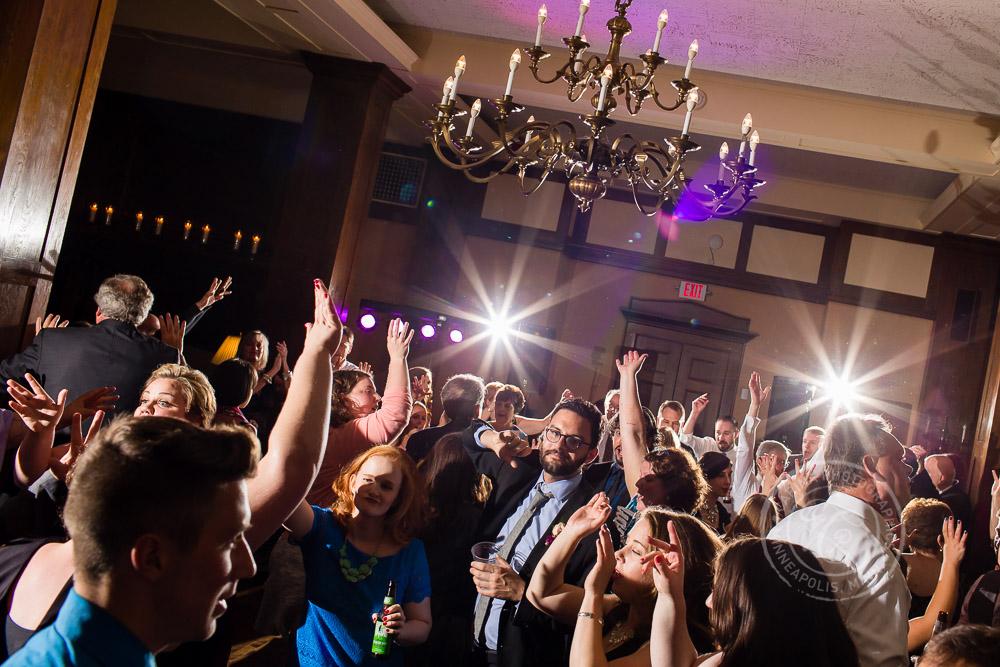 Minneapolis Club Wedding Photo