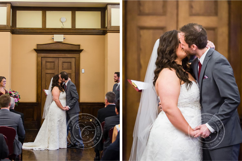 Minneapolis Club Wedding Photos