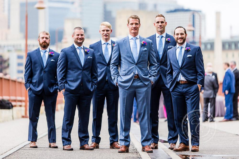 Minneapolis Club MN Wedding Photography