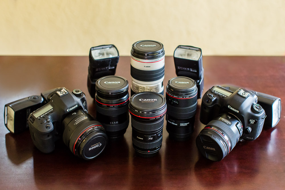 Minneapolis MN Wedding Photographer Camera Gear