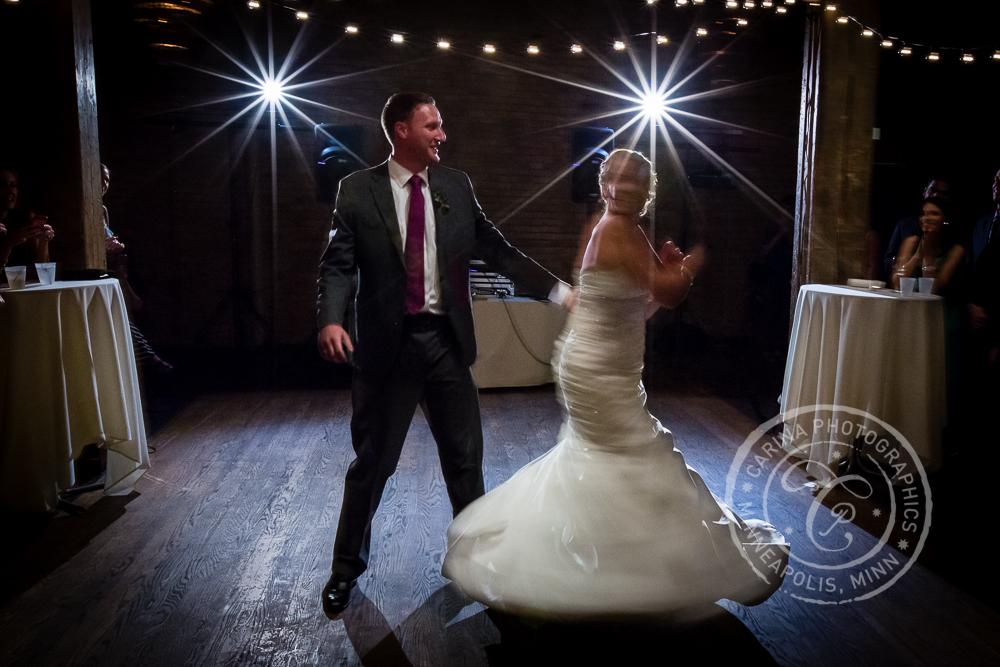 Minneapolis Wedding St Anthony Main Event Centre Dance