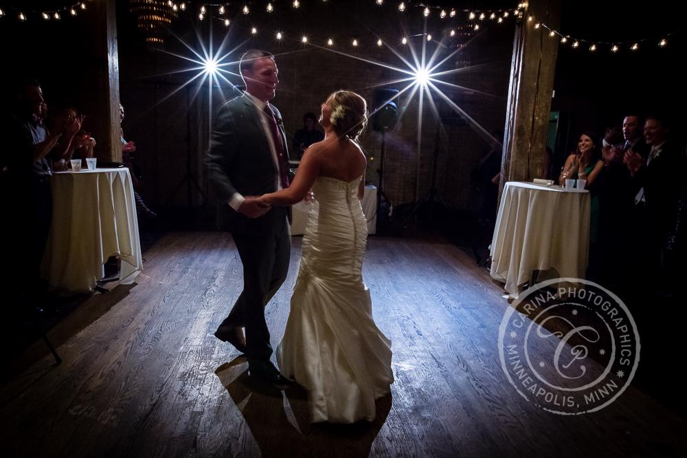 Minneapolis St Anthony Main Event Centre Wedding Dance