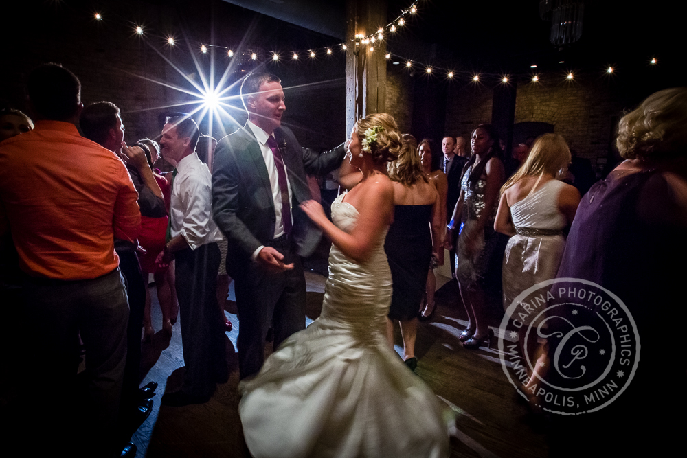 Minneapolis St Anthony Main Event Centre Wedding Dance