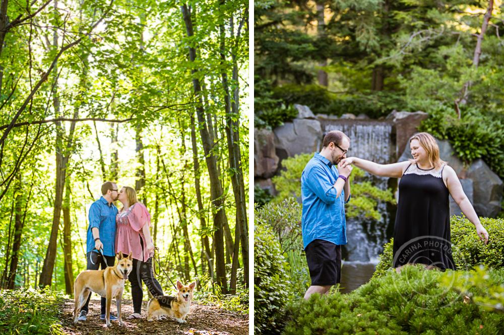 MN Landscape Arboretum Engagement Session