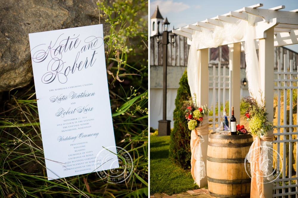 minnesota vineyard winery wedding photo 26 2 Minnesota Vineyard Winery Wedding | Katie + Bob