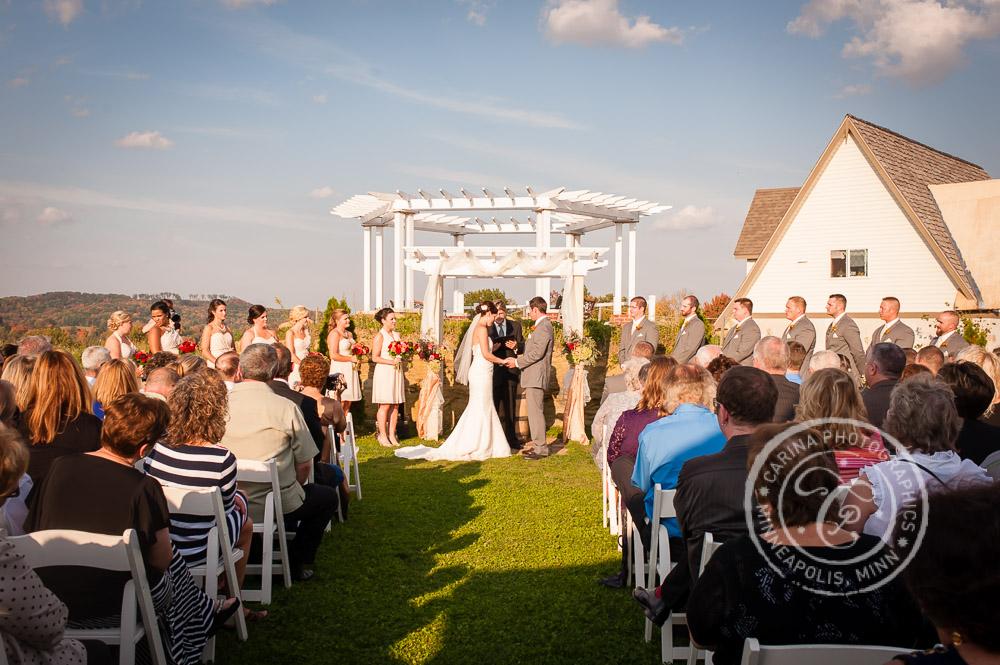 minnesota vineyard winery wedding photo 32 Minnesota Vineyard Winery Wedding | Katie + Bob