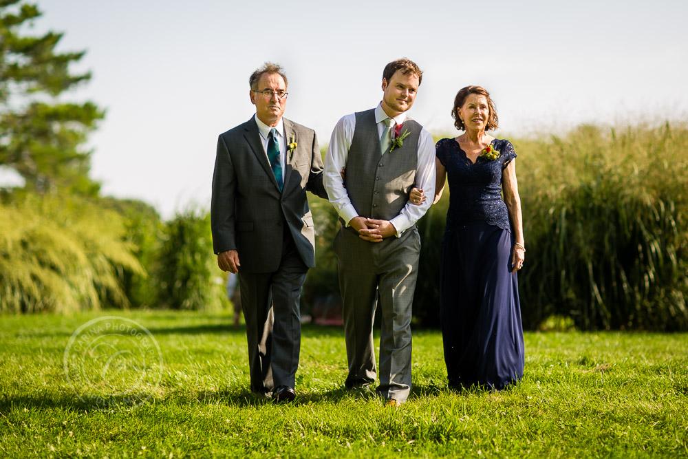 Minnesota Landscape Arboretum Wedding Photo