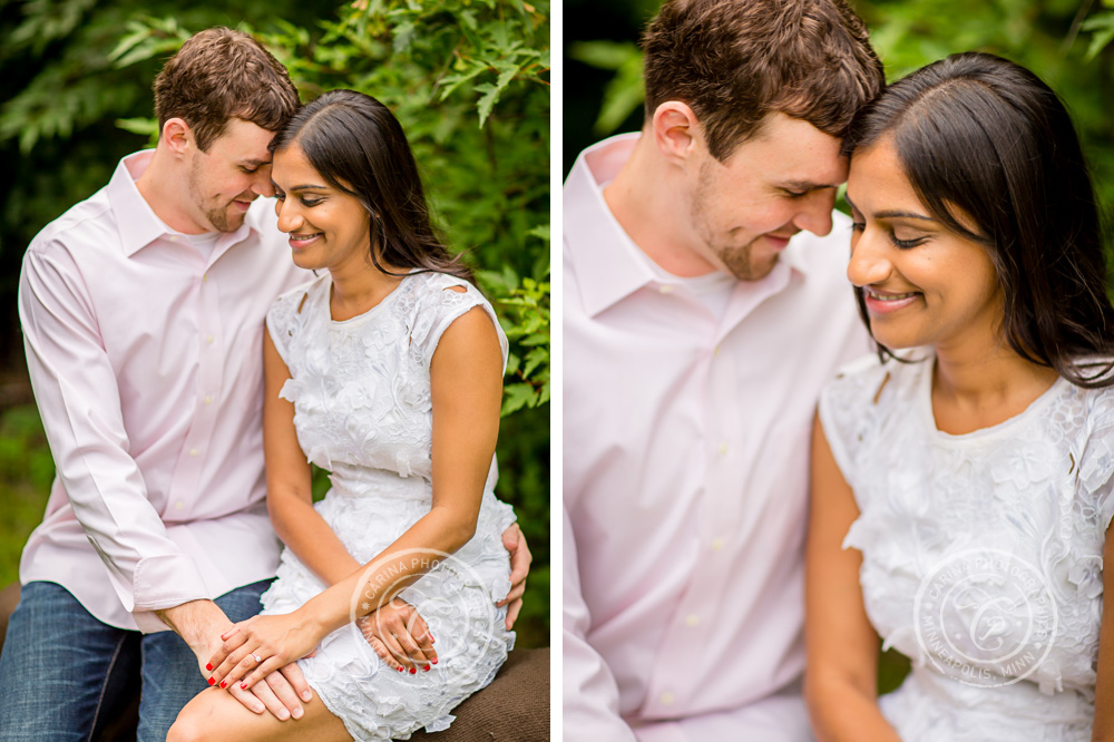 Round Lake Park Eden Prairie MN Engagement Session Photography