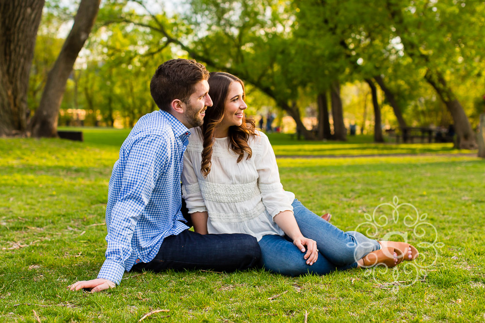 Saint Anthony Main Minneapolis Engagement Photo