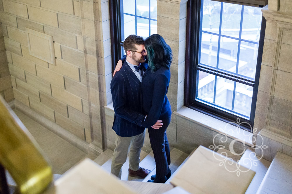 Downtown St Paul Public Library Engagement Photo