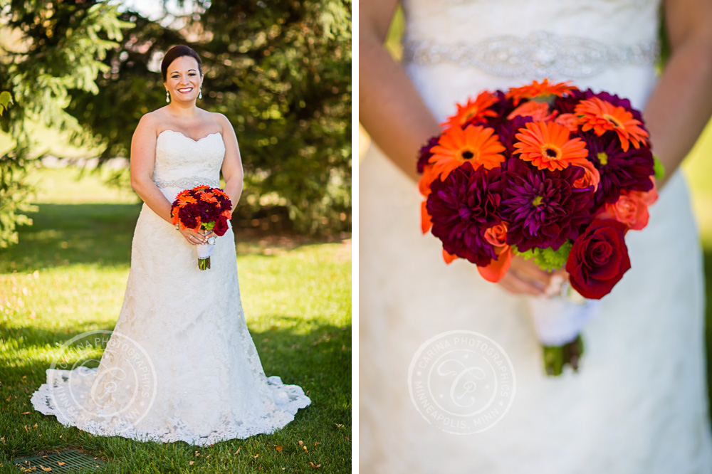 TPC Twin Cities Blaine Wedding Bride Photo
