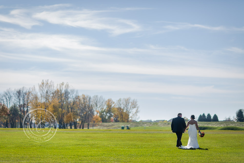 TPC Twin Cities Blaine Wedding Bride Groom Photo