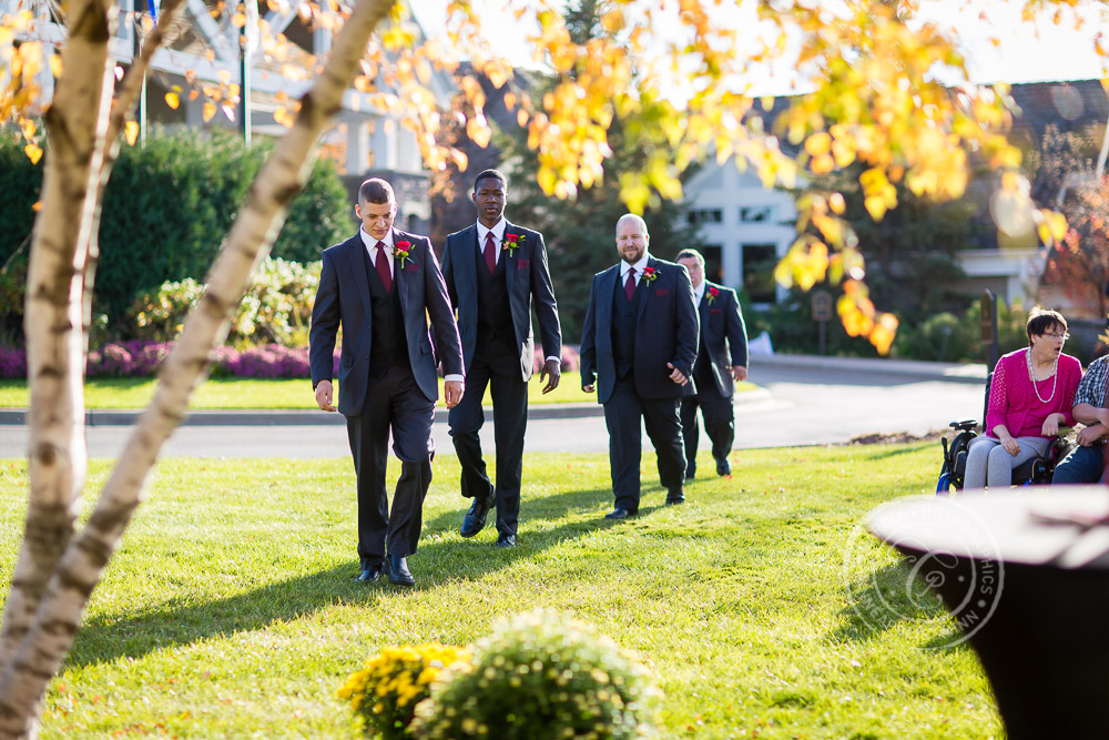 TPC Twin Cities Blaine Wedding Groomsmen Photo